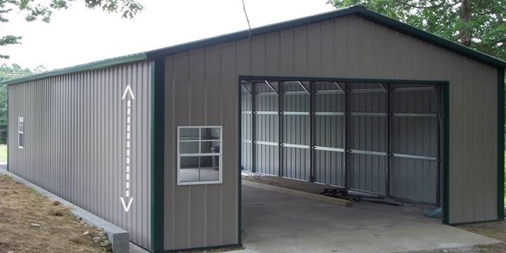 Metal garages american building outlet for American garage builders